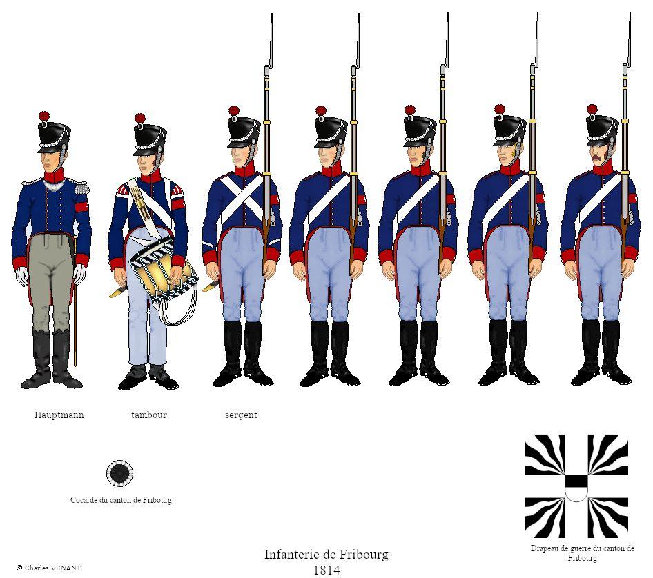 Infanterie-de-Fribourg-1814