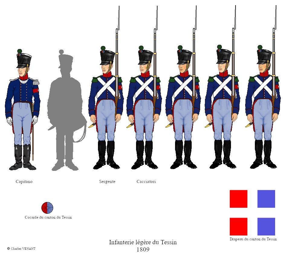 Infanterie-légère-du-Tessin-1809