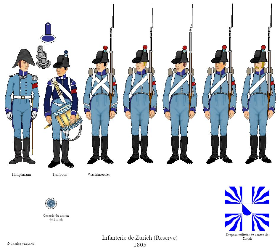 infanterie-de-Zurich